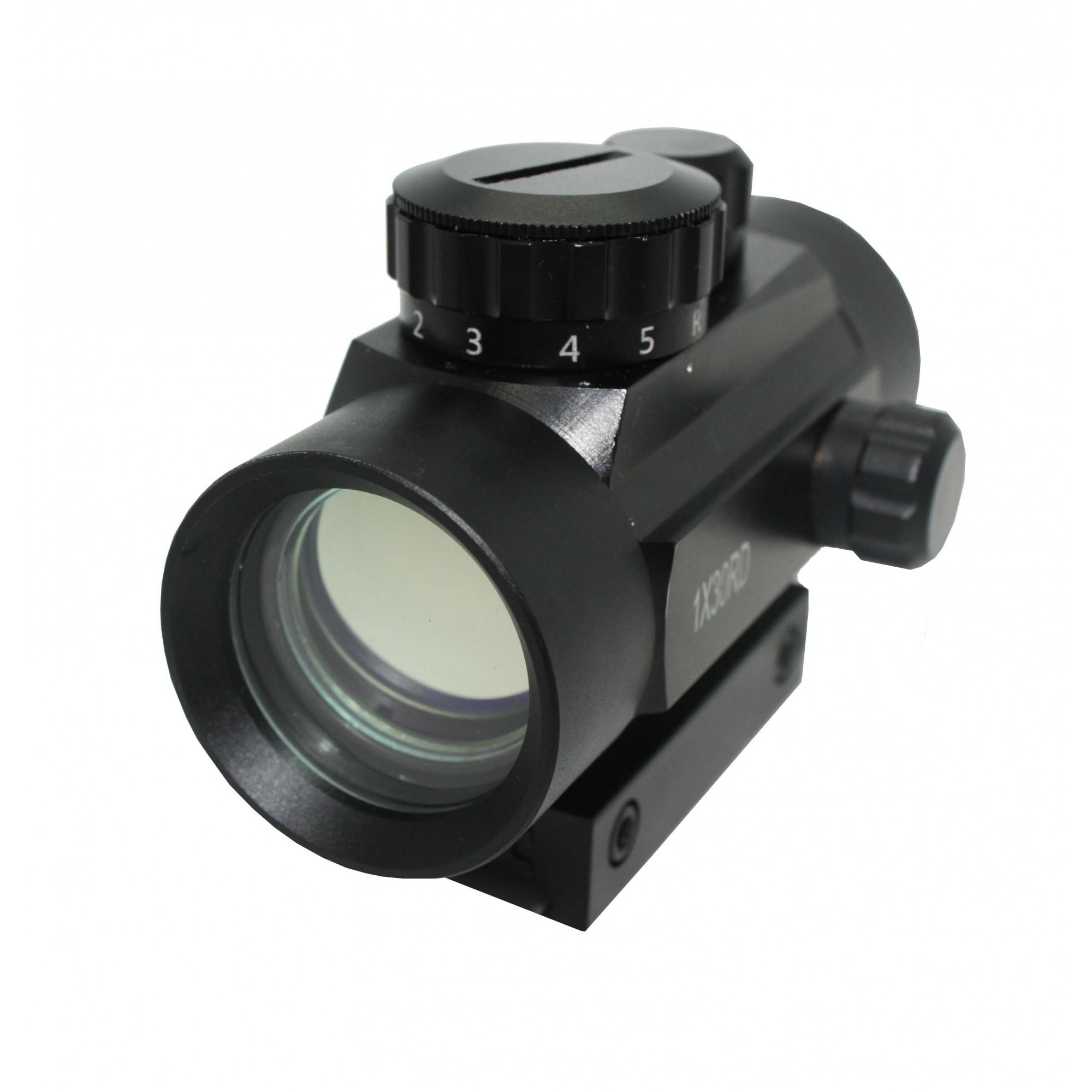 Red Dot 1X30 Para Airsoft ou Carabinas de Pressão