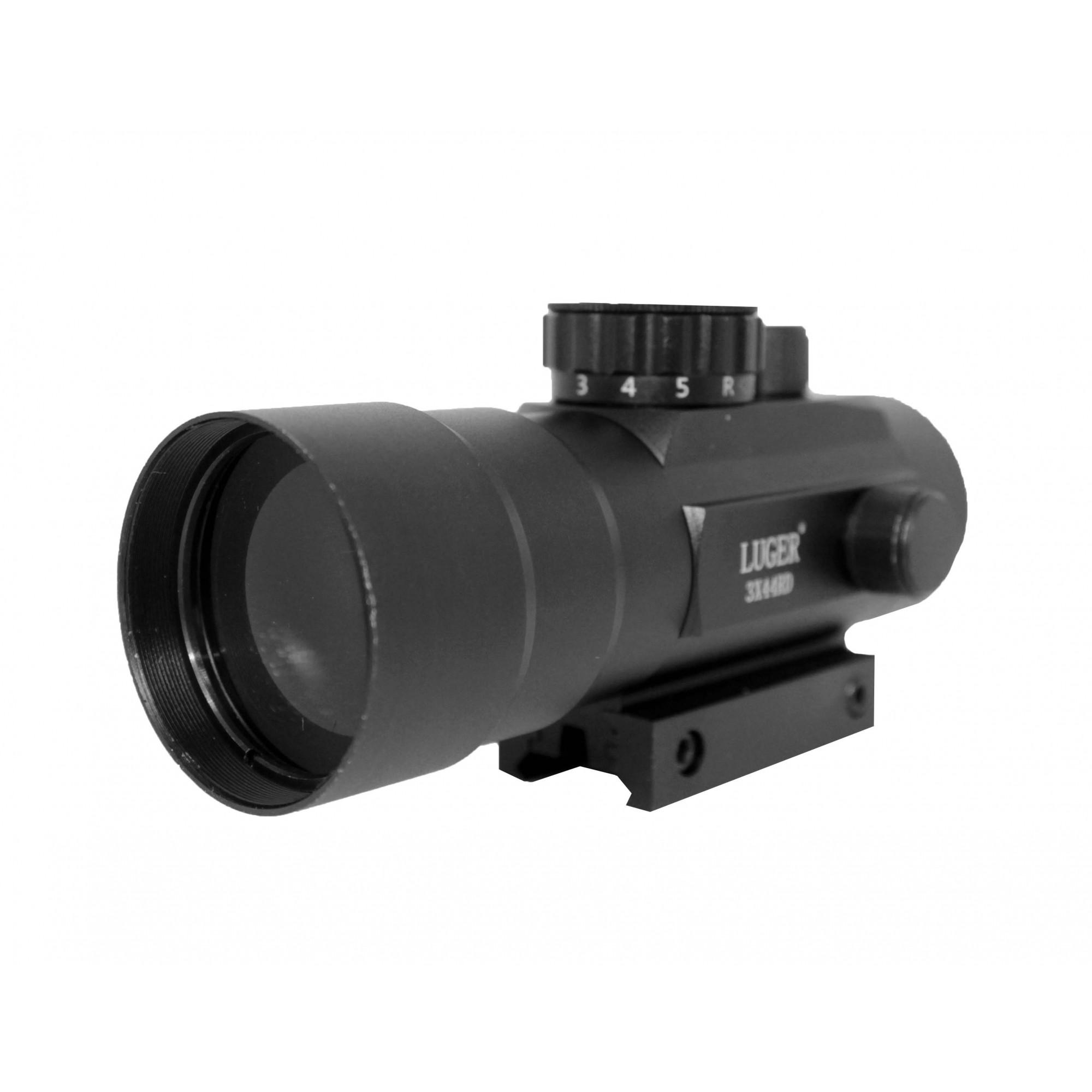 Red Dot Para Airsoft ou Carabinas de Pressão Trilho 11mm Para 20mm