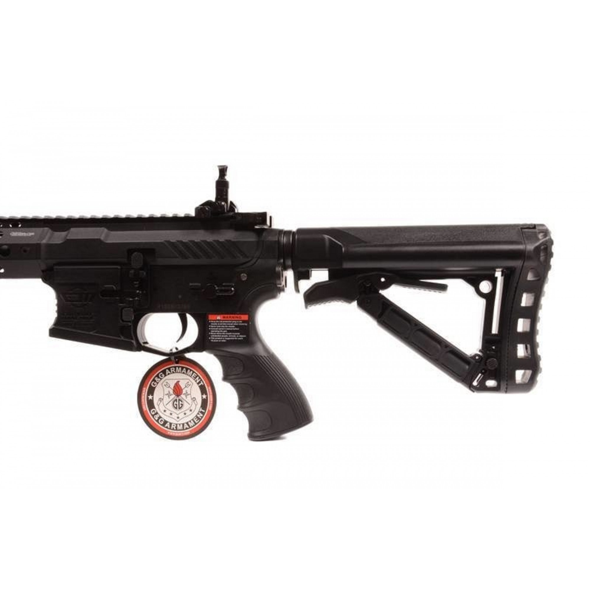 Rifle Airsoft CM16 SRXL RIS Metal Com Gatilho Eletrônico e Mosfet