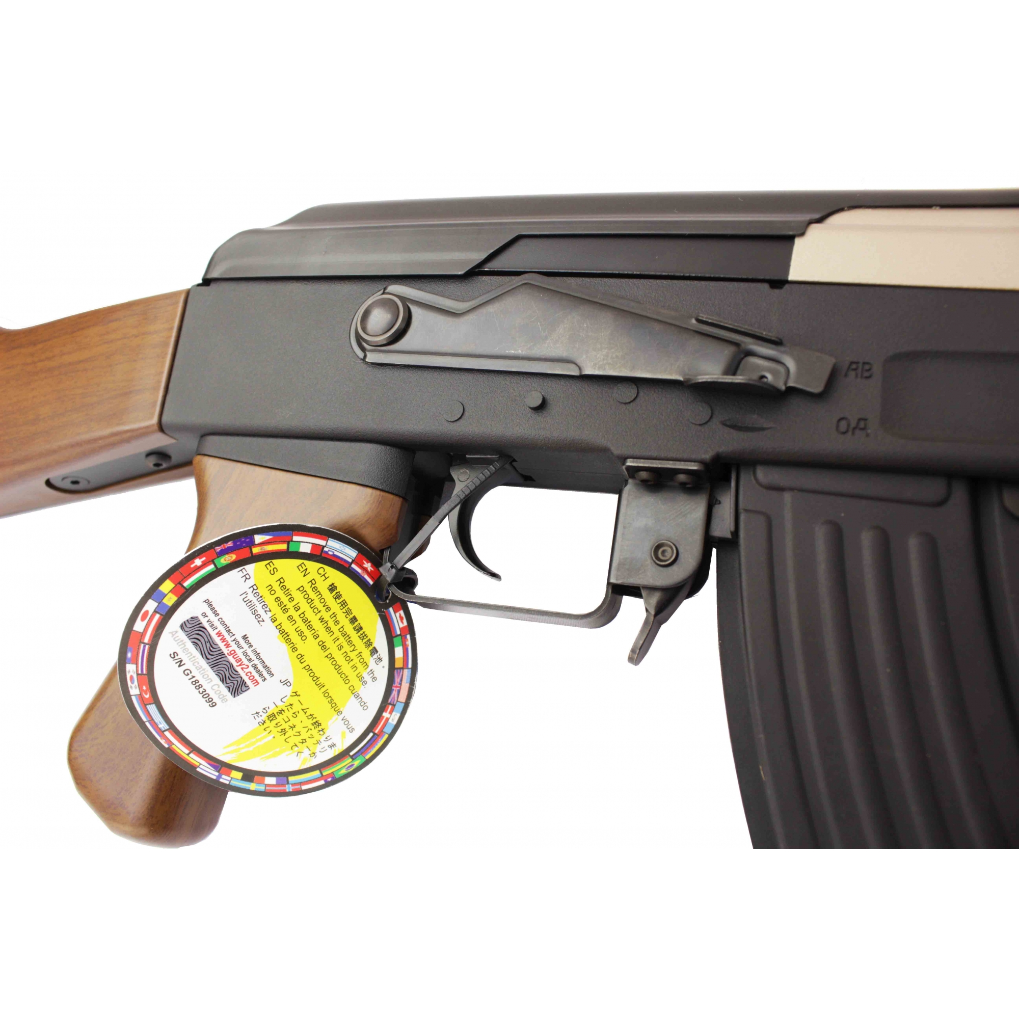 Rifle Airsoft G&G AK47 RK47 Imitation Wood