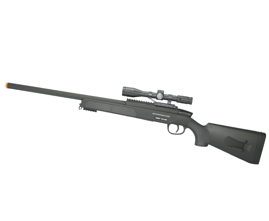 Rifle Airsoft Sniper Black Eagle M6 Spring - Swiss Arms