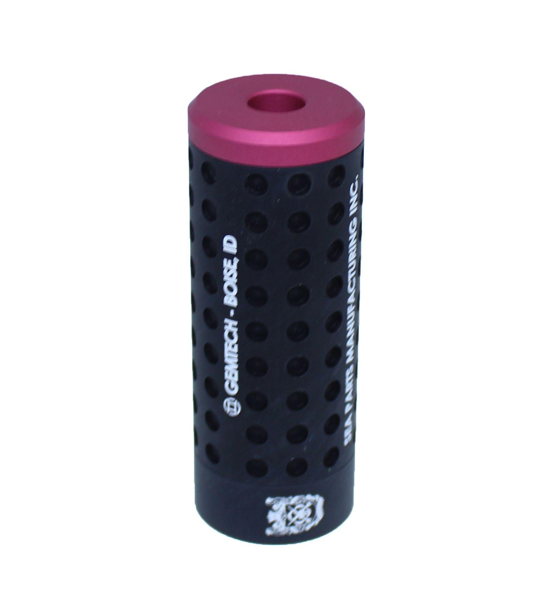 Silenciador Furado 100mm x 38mm - Direito