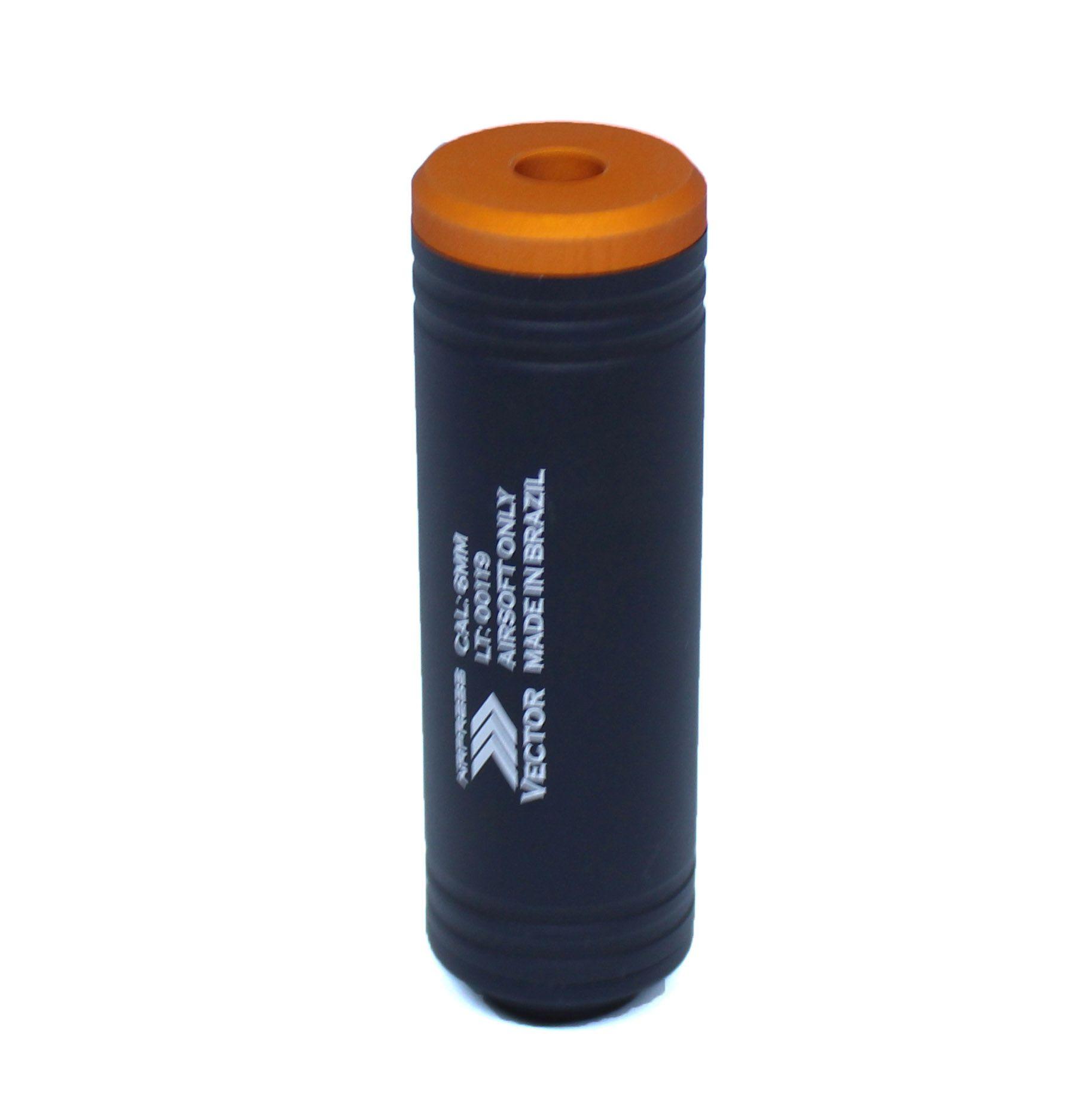 Silenciador Liso 100mm x 31mm - Esquerdo