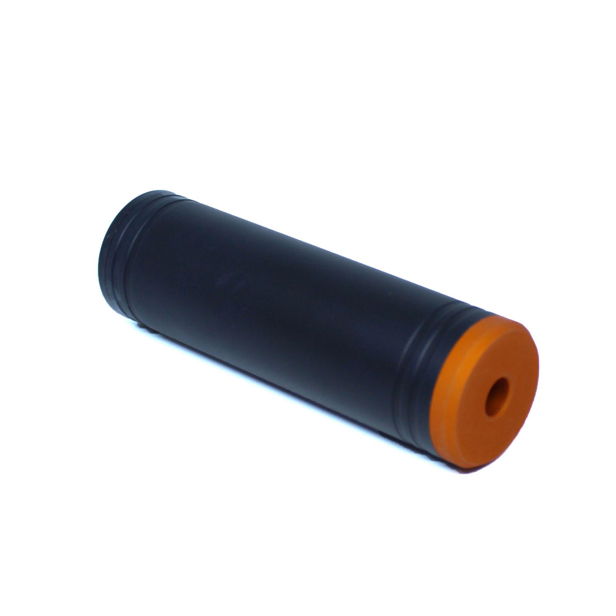 Silenciador Liso 120mm x 35mm - Esquerdo