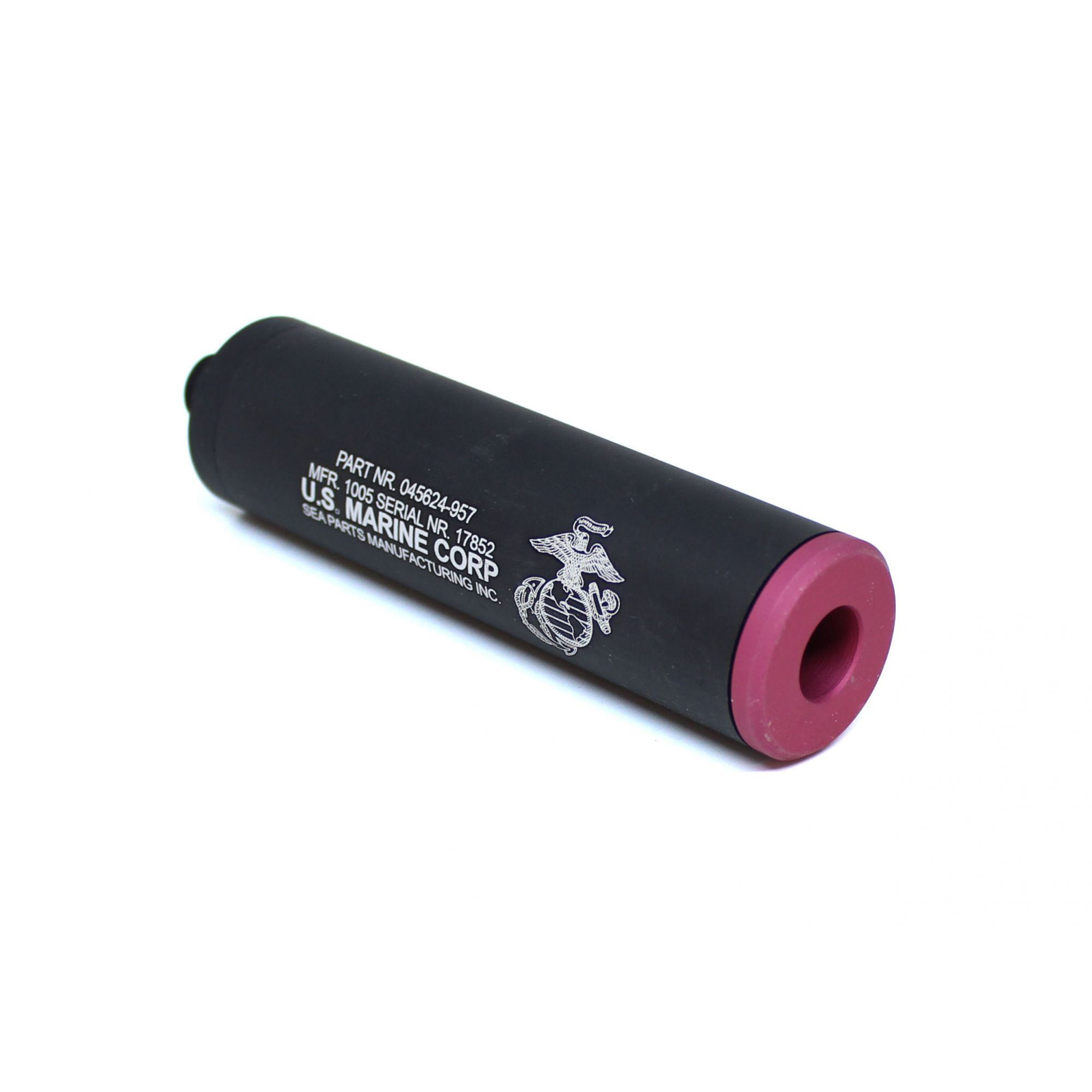 Silenciador Liso Rosca Pistola 100mm x 28mm ? WE