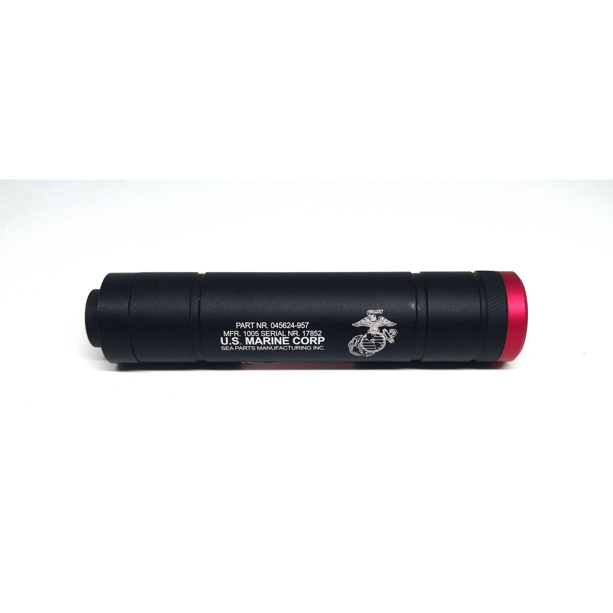 Silenciador 140x31mm - Esquerdo