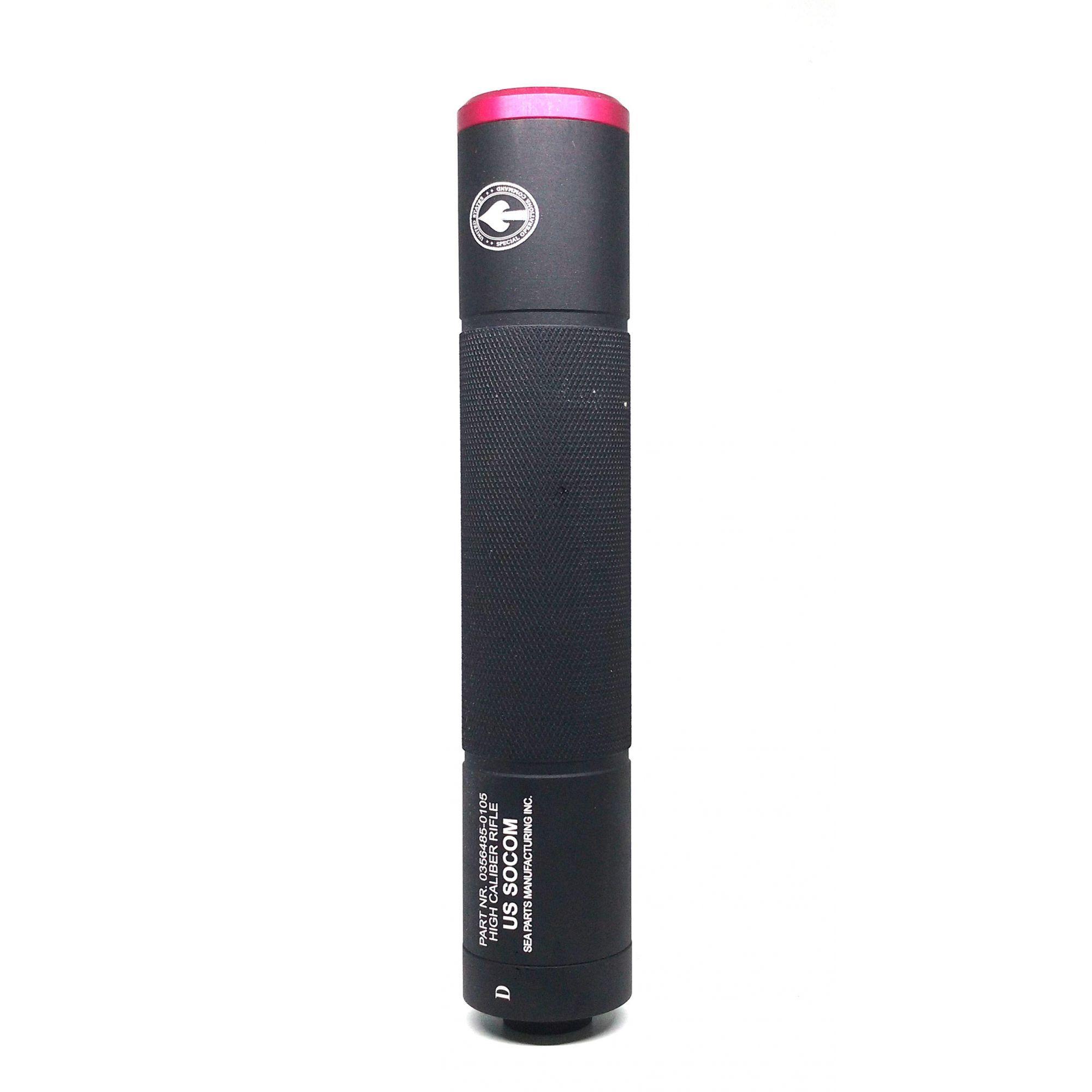 Silenciador Recartilhado 200x38mm - Esquerdo