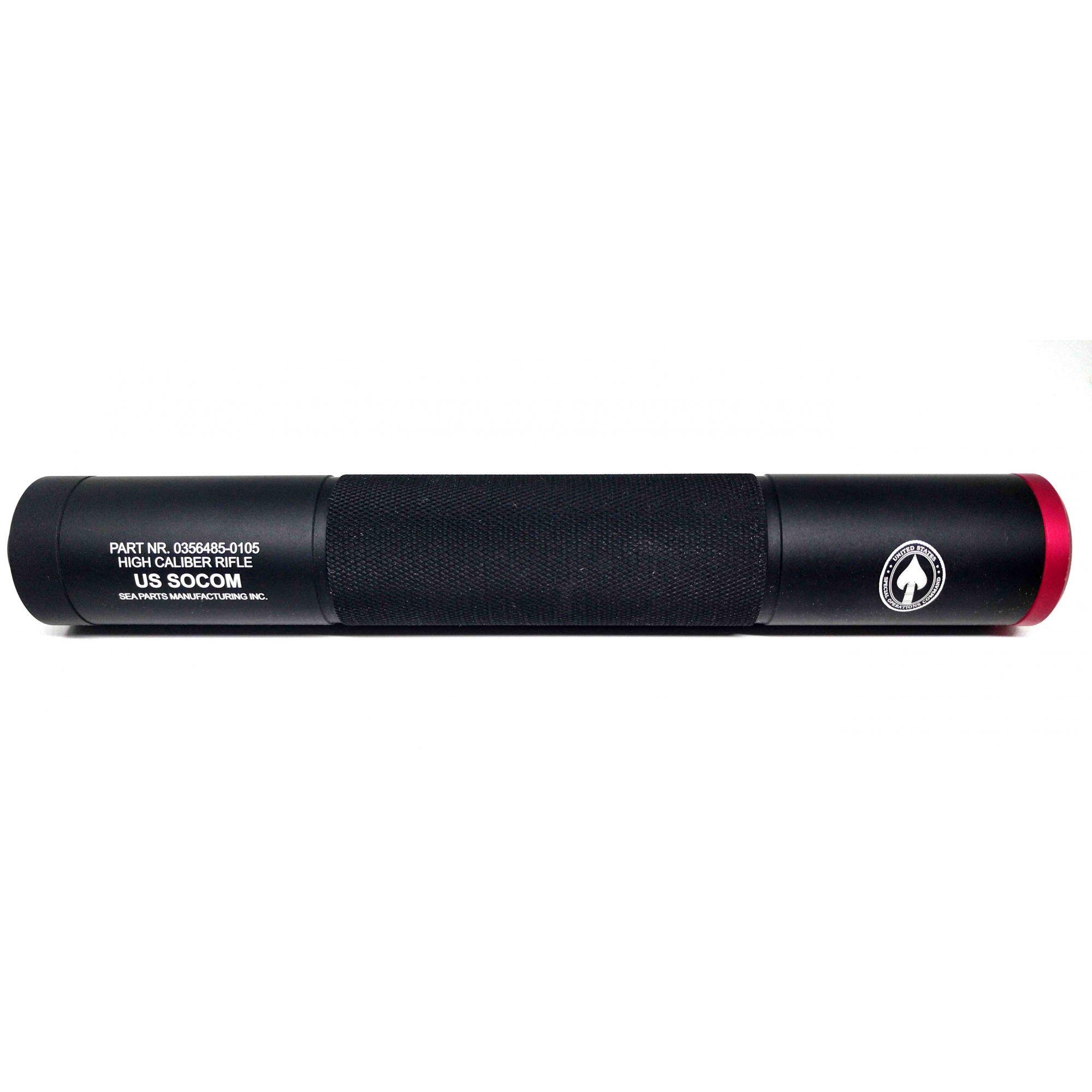 Silenciador Recartilhado 250X38mm - Esquerdo