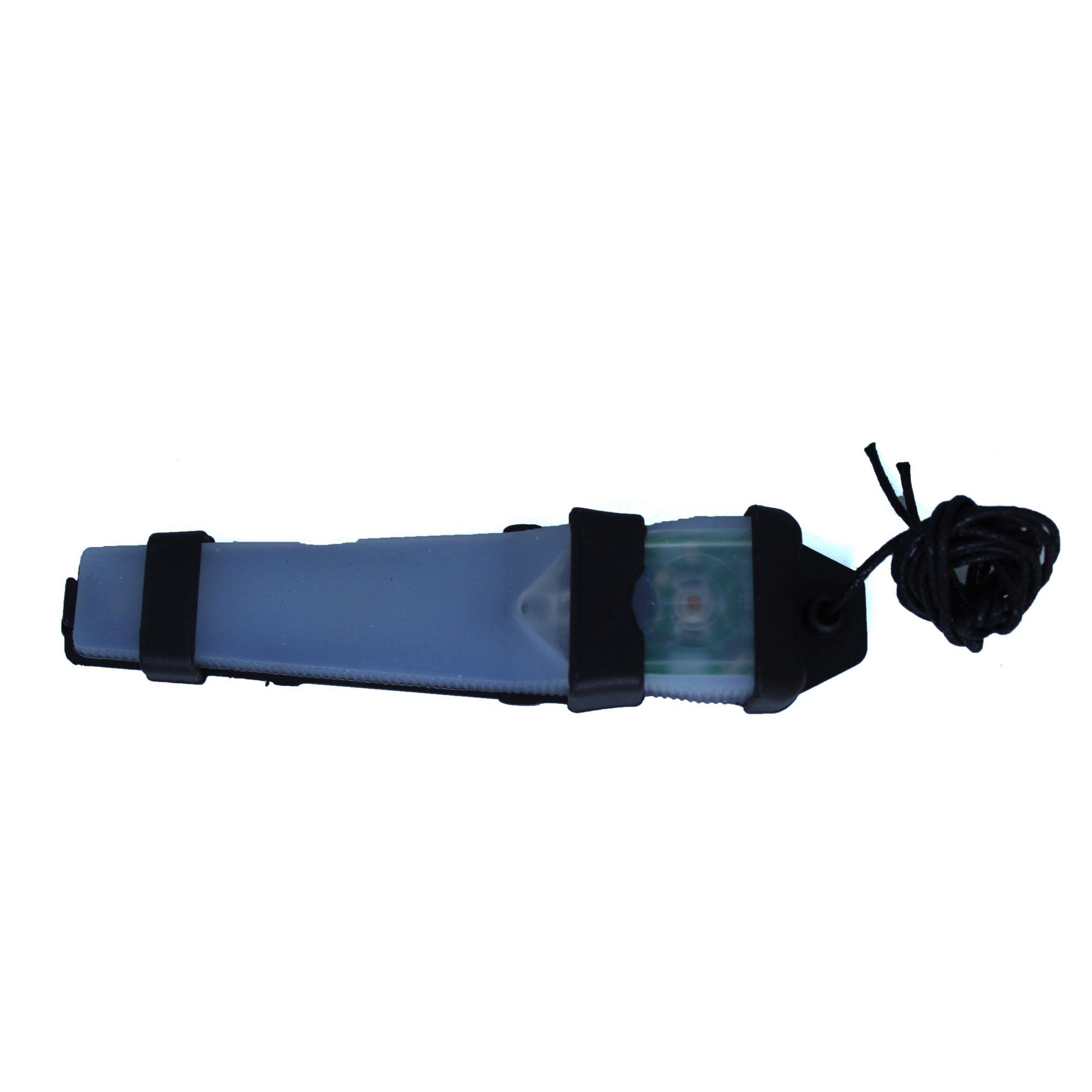 Sinalizador de capacete ou pescoço