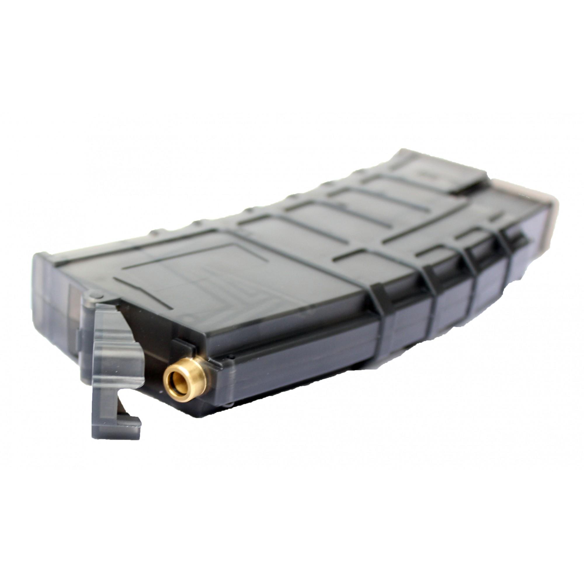 Speed Loader Airsoft Bocal de Aço - Com Capacidade 300 BBs