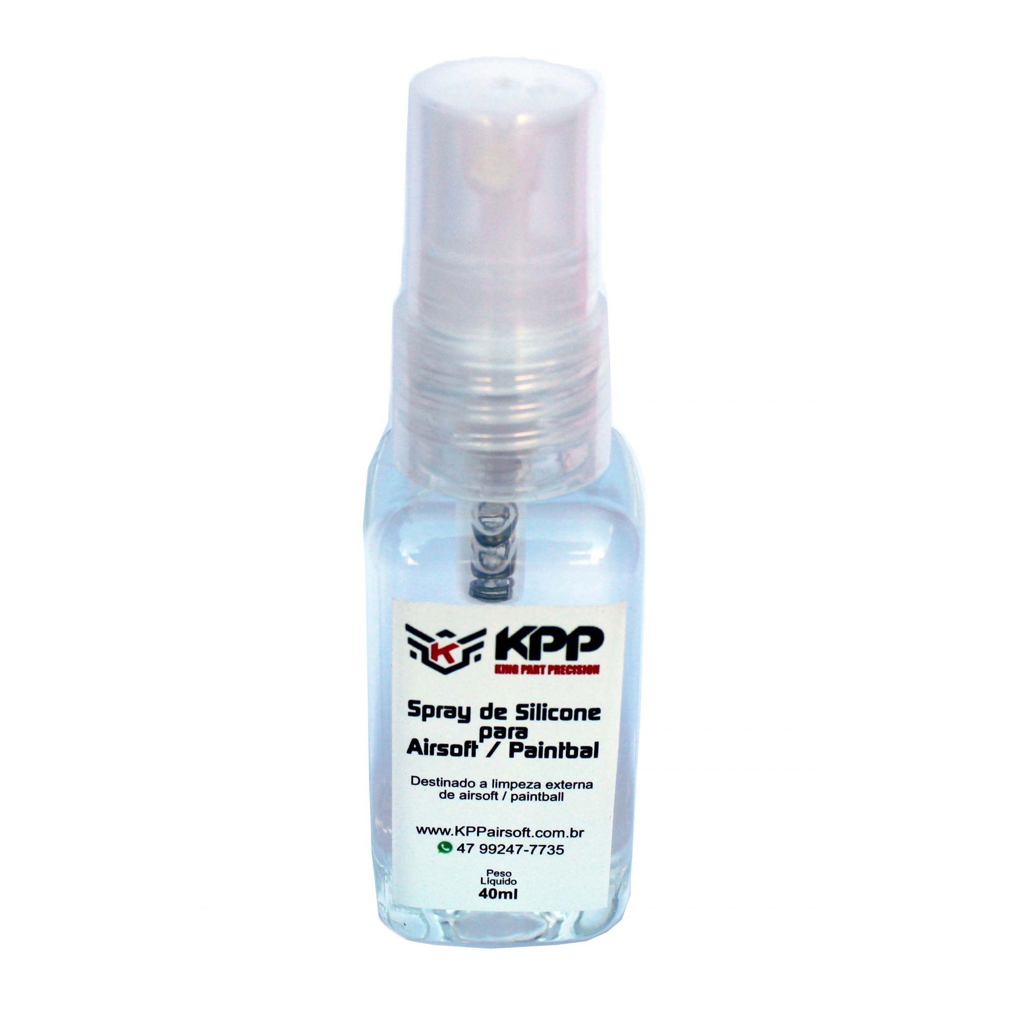Spray de Silicone Para Airsoft/ Paintball