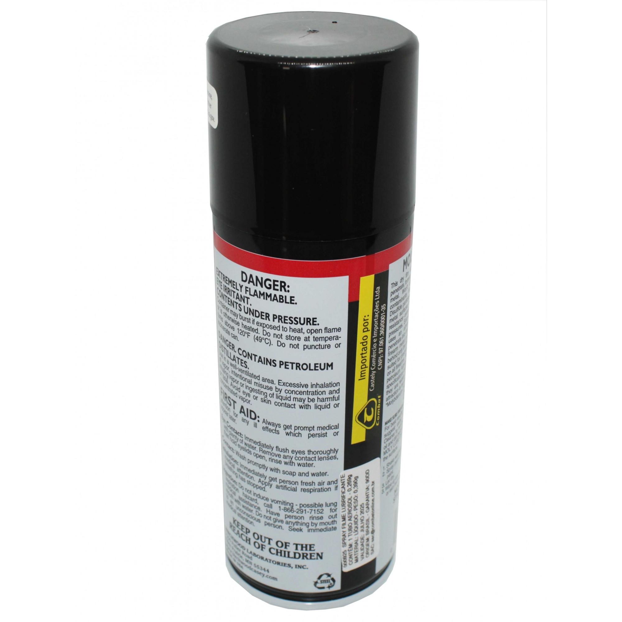 Spray Filme Lubrificante Moly Lube 9,5 OZ Casey Birchwood