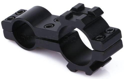 Suporte Adaptador 25 /19 Para Luneta E Lanterna Mount 20mm