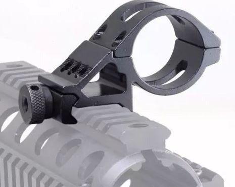 Suporte De Lanterna 45º Offset 30mm Novo