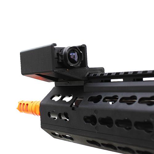 Suporte de Trilho Lateral Para Câmera Runcam 2 Selfie