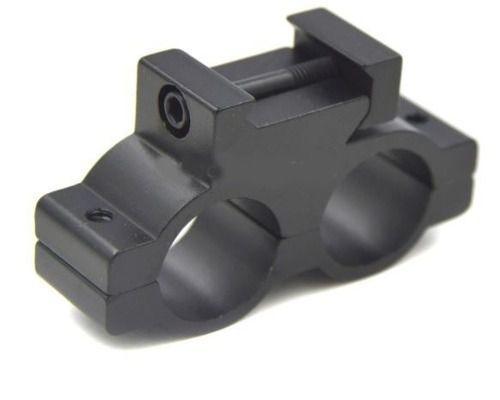 Suporte Duplo Lanterna /laser 18mm Anel Trilho 20mm