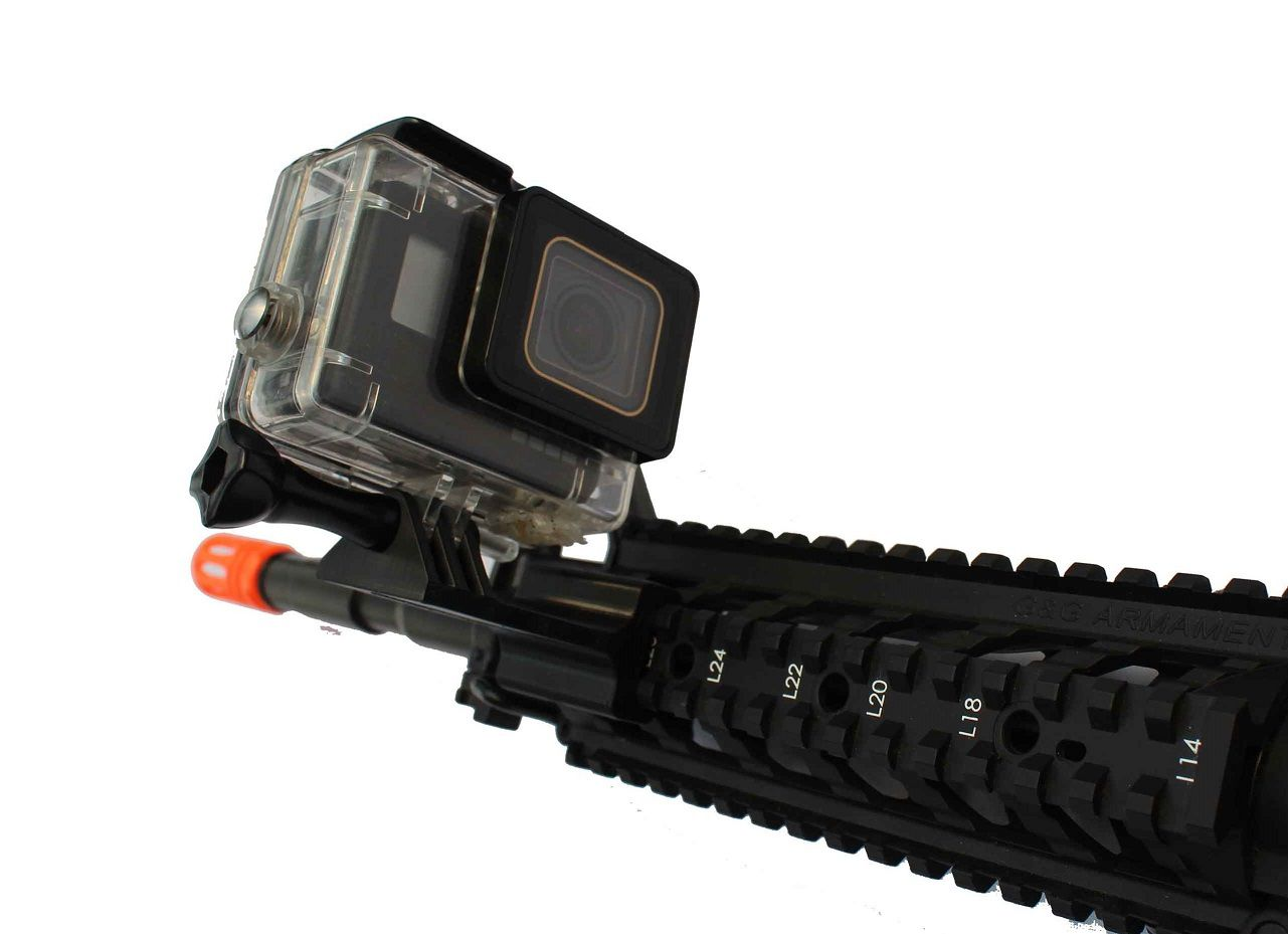 Suporte Gopro Selfie trilho lateral