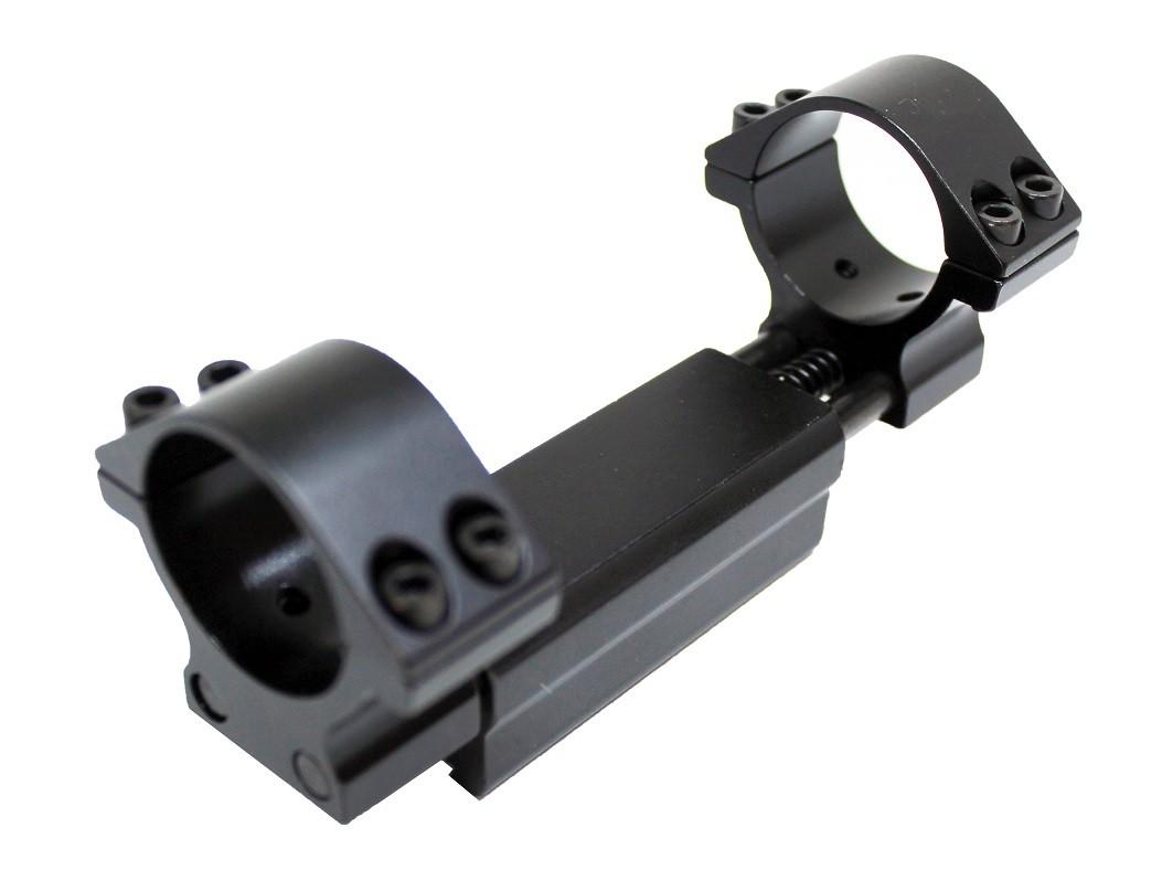 Suporte Luneta Absorção de Impacto Trilho 11mm Diâmetro 30mm
