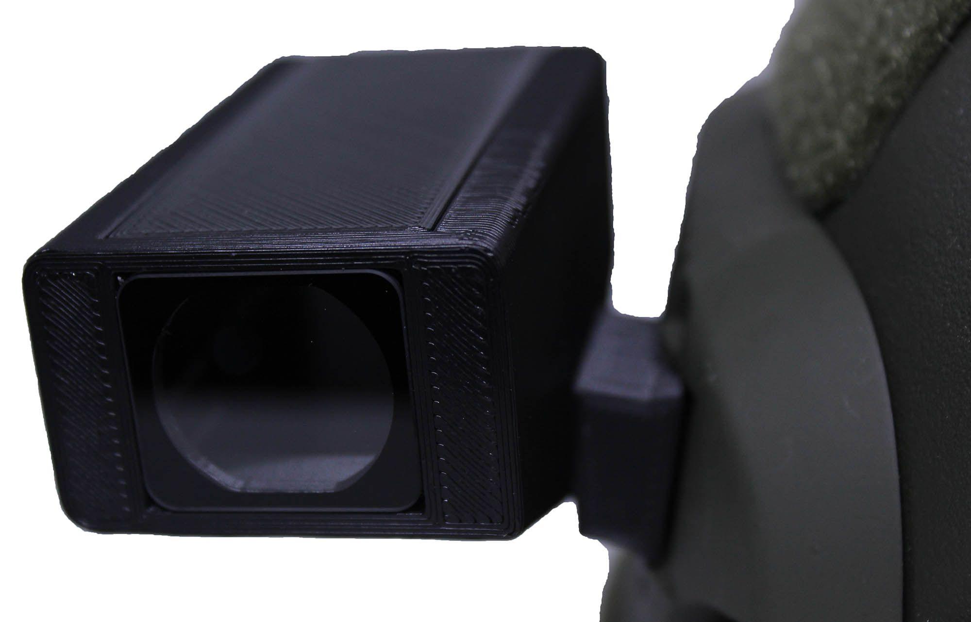 Suporte Runcam 2 Selfie E Capacete Com Tampa E Proteção