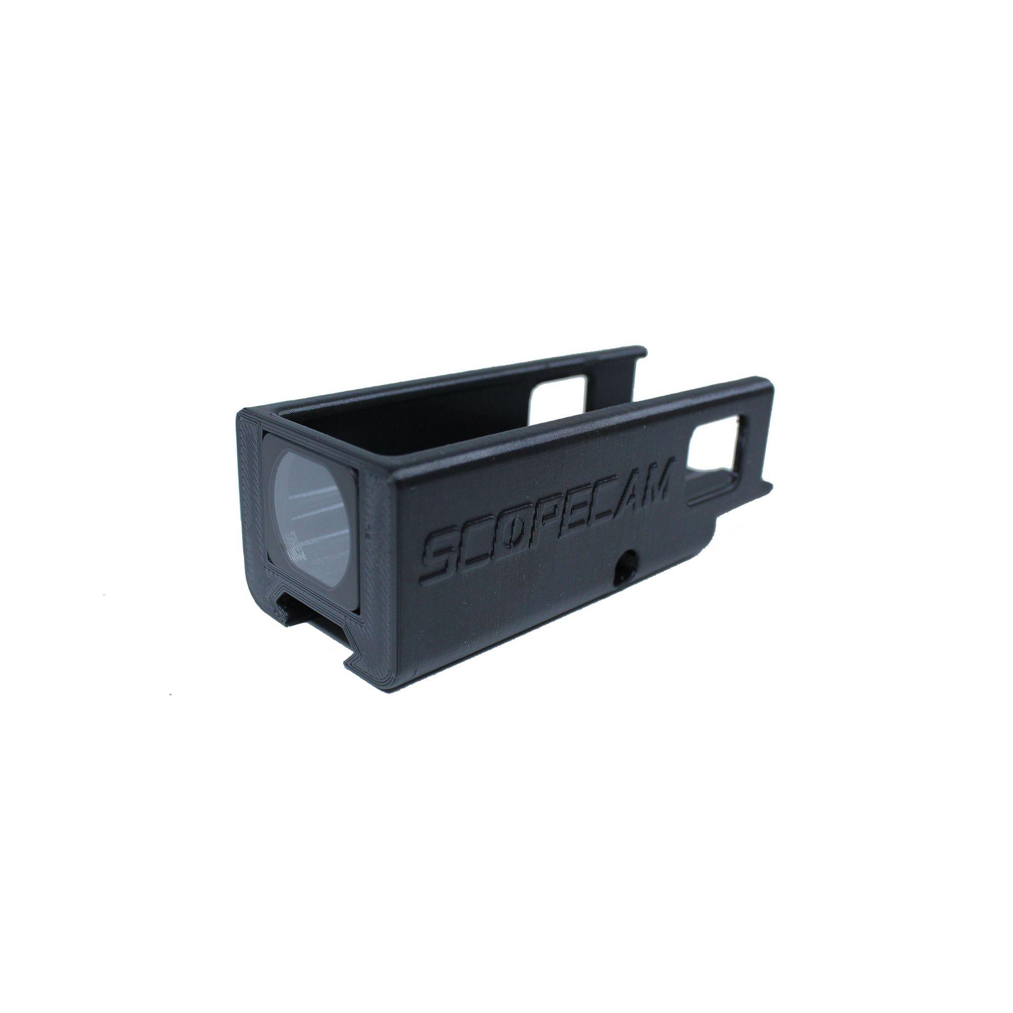 Suporte Runcam 2 trilho 20mm com proteção de lente para lente 50mm