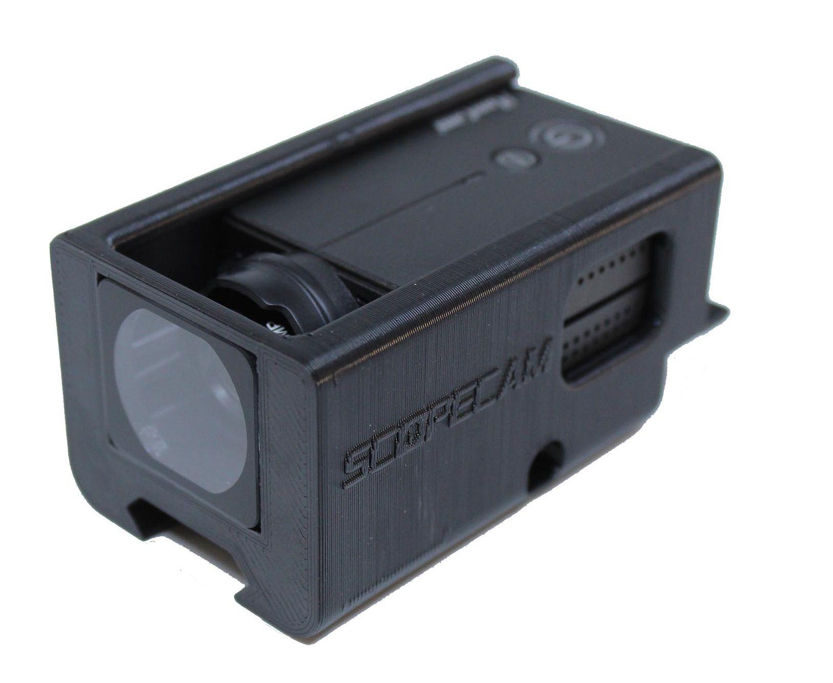 Suporte Runcam 2 Trilho com proteção de lente