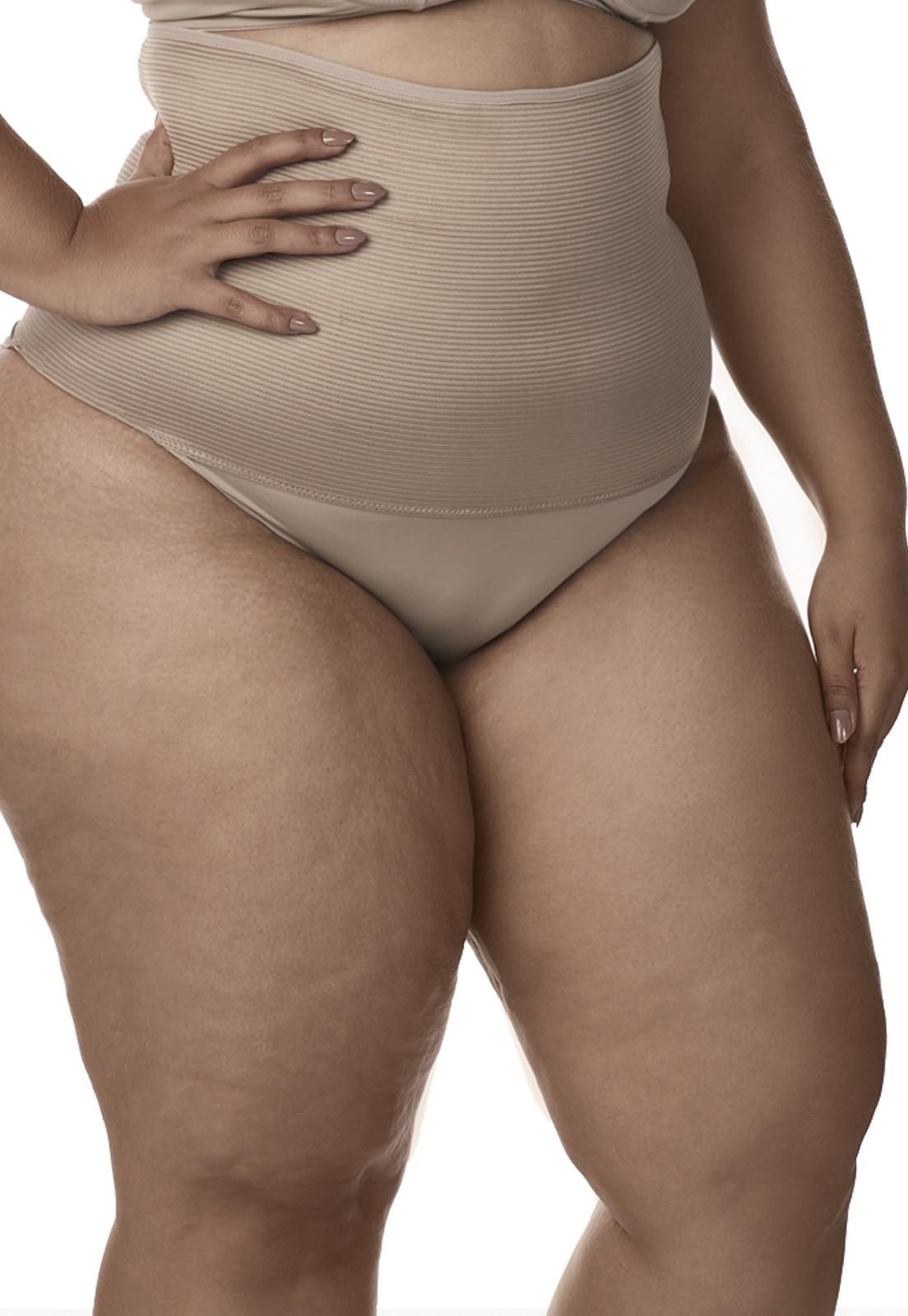 Calcinha Cinta Modeladora Dukley Lingerie - Plus Size