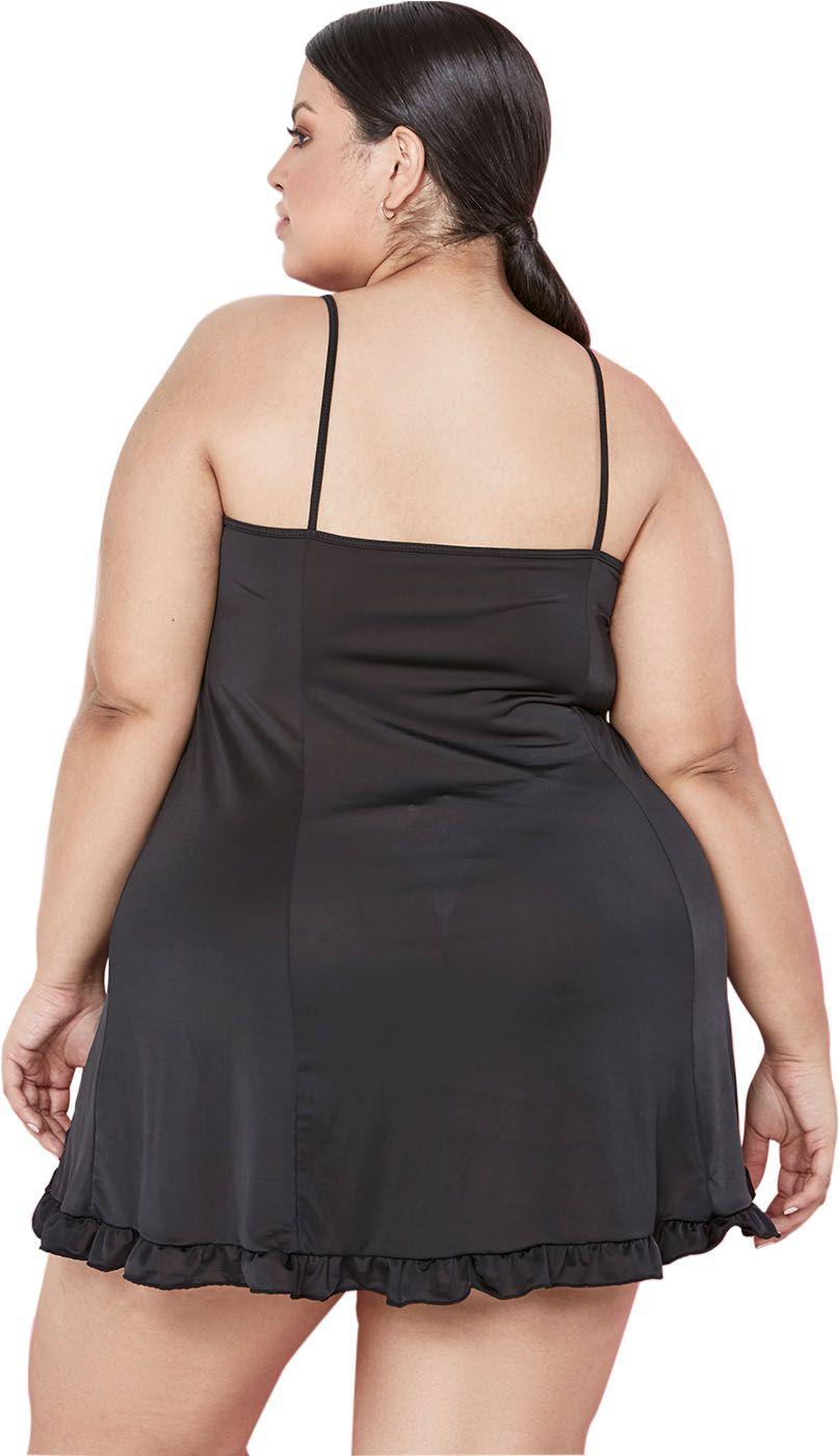 Camisola Liganete Lisa Dukley Lingerie Plus Size