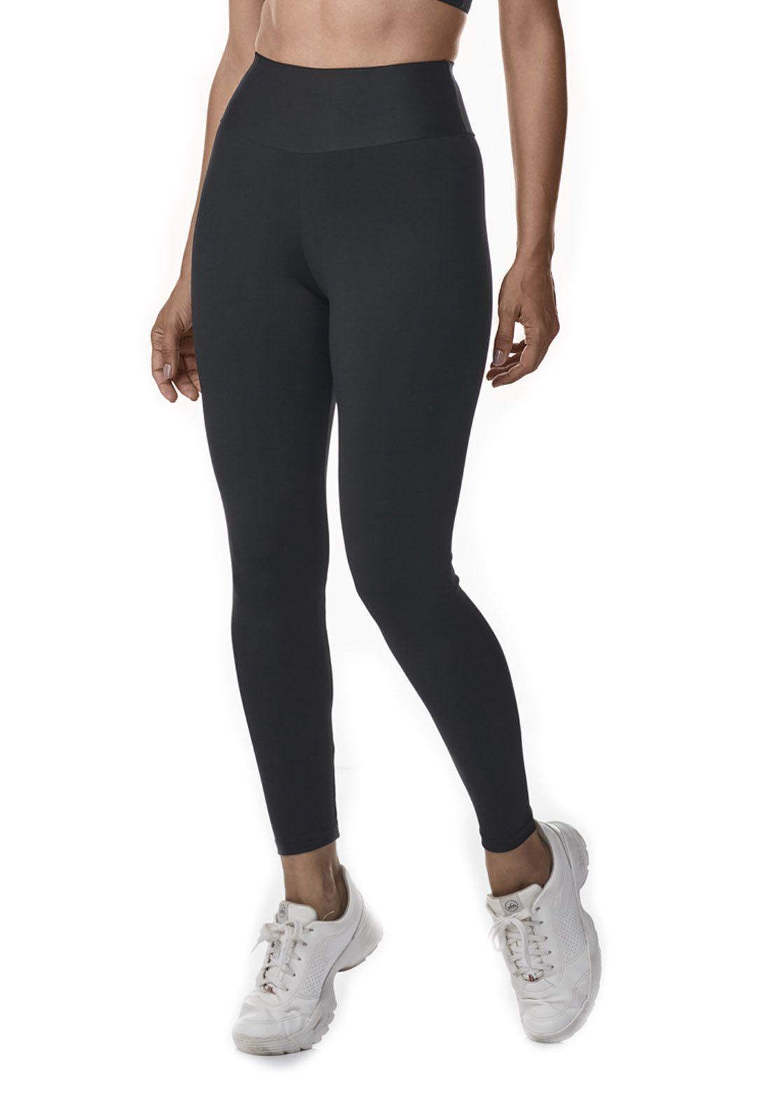 Calça legging com cós sem Costura Slim - Dukley Lingerie - 0009