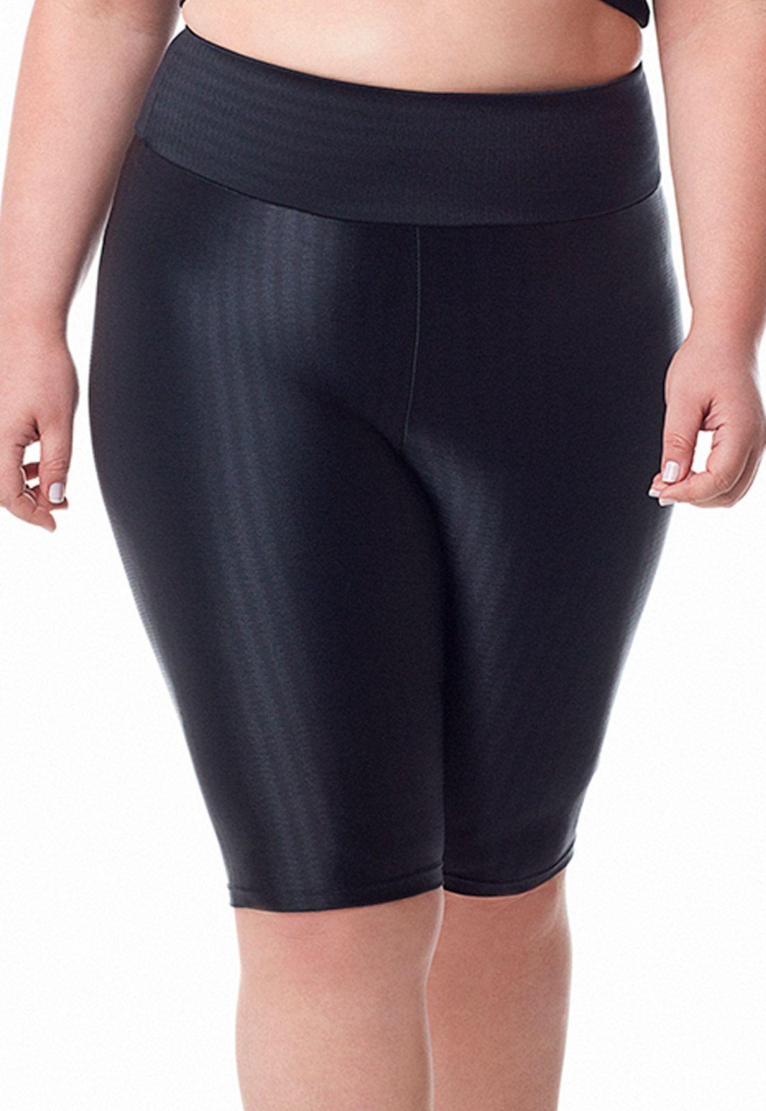 Shorts ciclista active Dukley Lingerie Plus Size