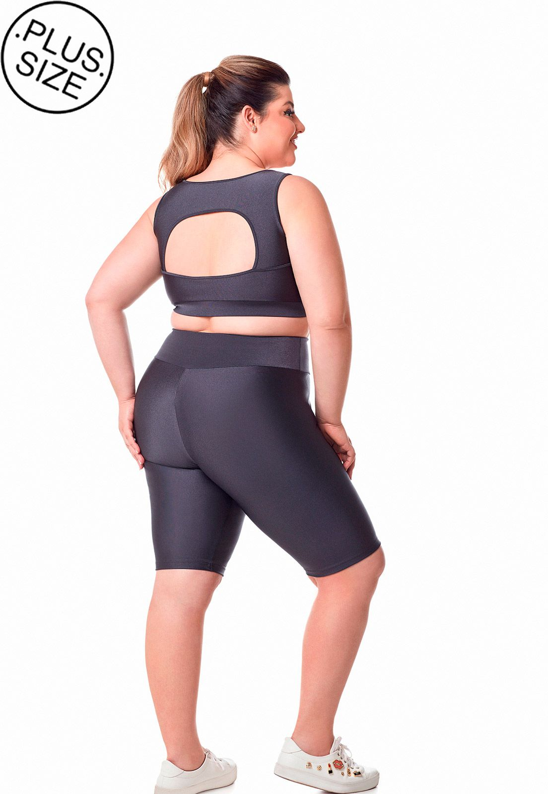 Shorts ciclista fit Dukley lingerie Plus