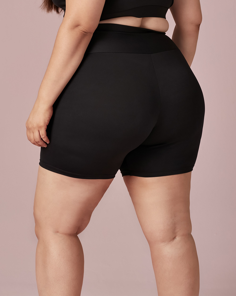 Shorts Cós Sem Costura - Dukley Lingerie - Plus - 605