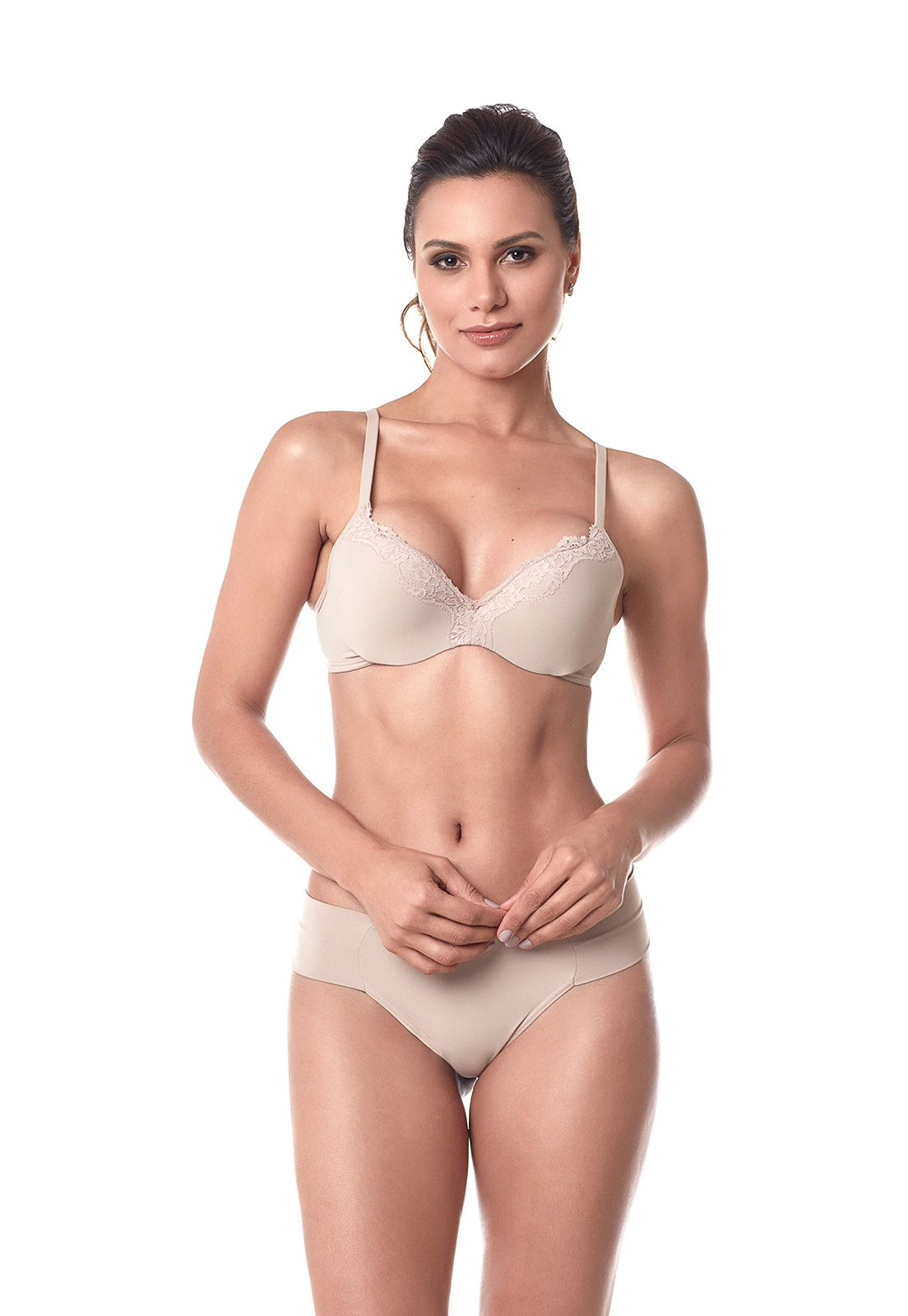 Sutia basico Push Up Dukley Lingerie Slim - 166