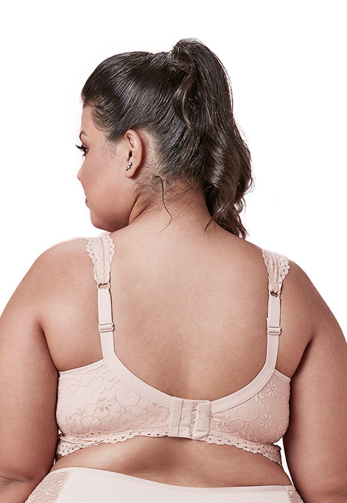 Sutiã cropped em renda - Dukley Lingerie - Plus Size