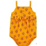 Carters Romper floral laranja 6 meses Carters