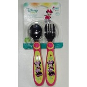 Conjunto de Talheres The First Year Minnie Mouse