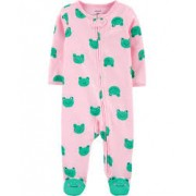 Macacão Pijama Carter's Sapinho 06 meses Verde