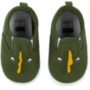 Sapatinho carters dinossauro verde - N4