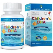Vitamina Children's Dha, Strawberry, 250 Mg, 90 Mini Soft Gels Nordic