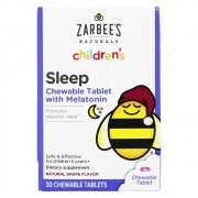 Zarbee's Children's Sleep com Melatonina Sabor Uva