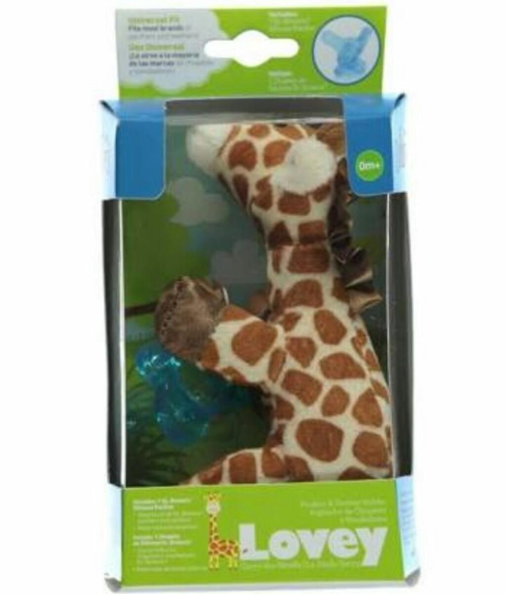 Chupeta Lovey Dr. Brown Original Com Pelucia Girafa