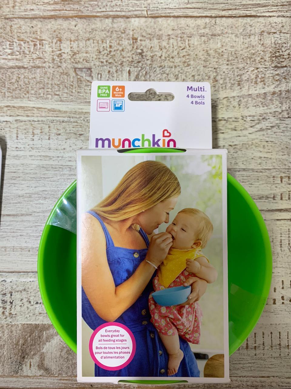Conjunto potes munchkin - kit c/4