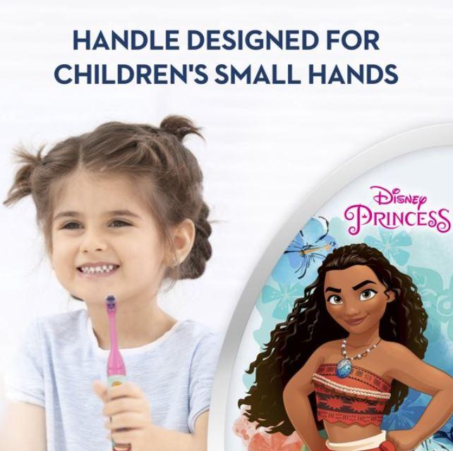 Escova De Dente Eletrica Infantil Disney Princesa Moana Oral B