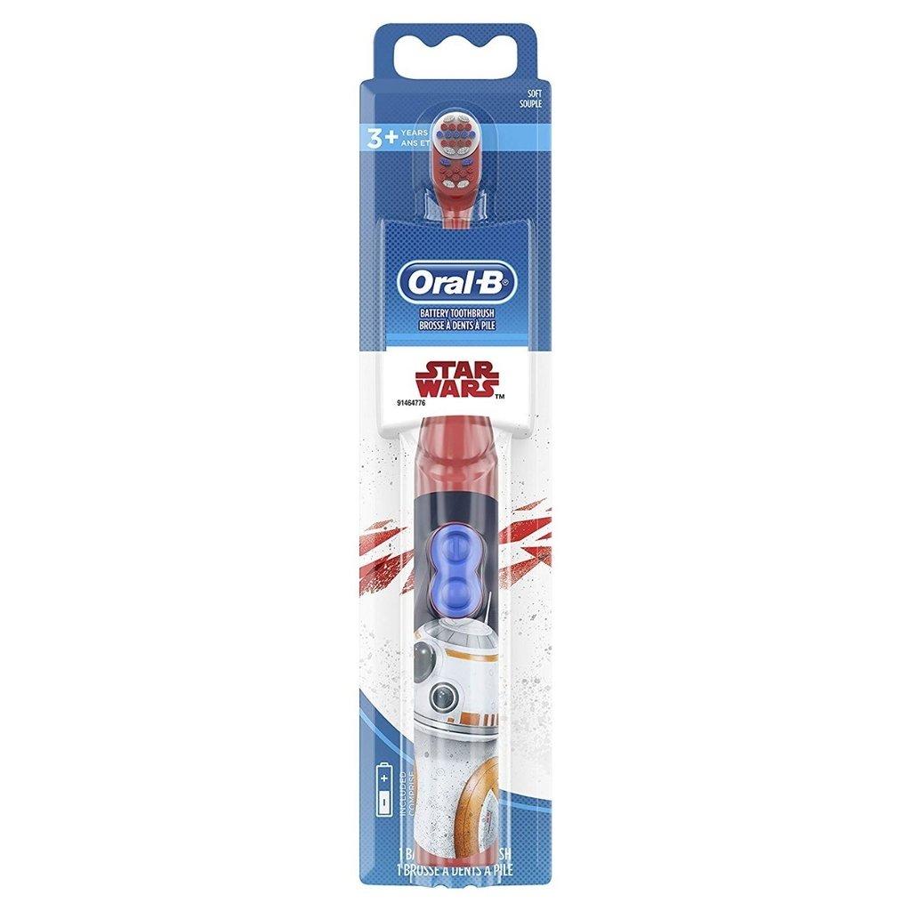 Escova Dental Elétrica Infantil Star Wars Oral B