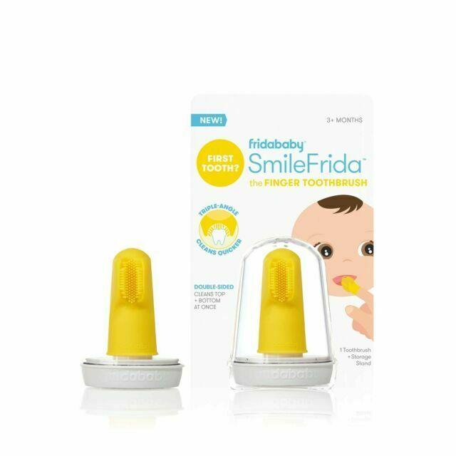Escova Dental Infantil Smilefrida Fridababy Amarela
