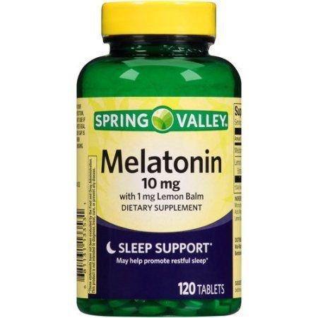 Durma bem Melatonina Adulto 10 mg