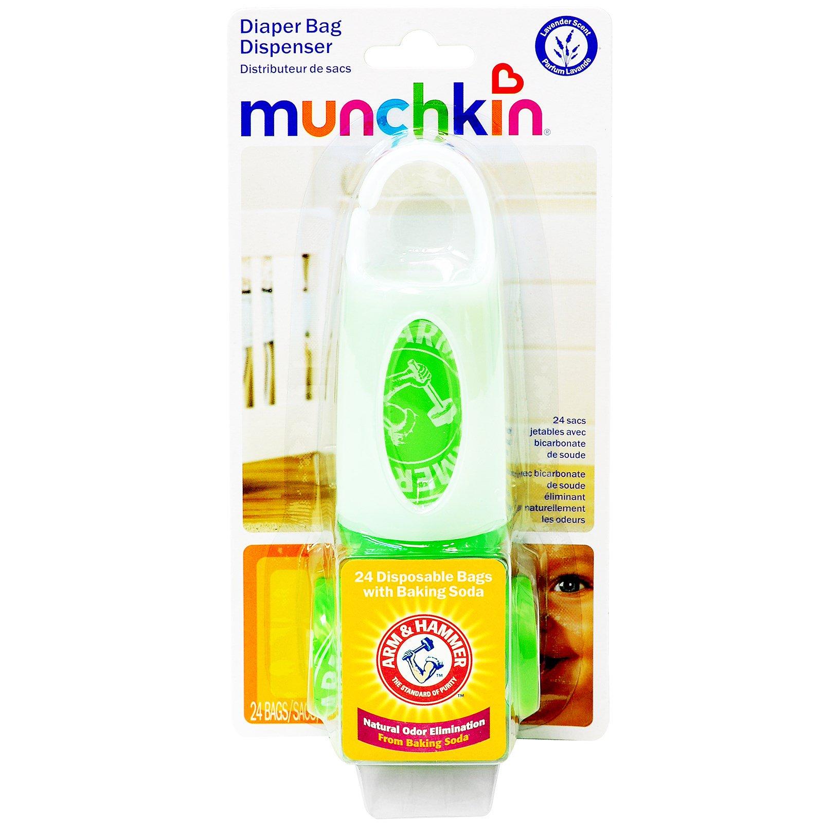 Munchkin, Dispensador de Sacos para Fralda Suja,