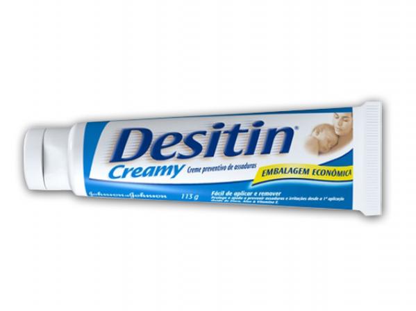 Pomada Para Assadura Desitin Daily Defense 113gr - Johnson's azul Bastão