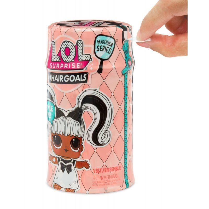 Boneca LOL HAIR GOLS