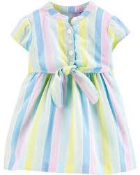 Vestido Listrado Carters 18 meses feminino