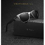 Óculos de Sol Original Veithdia VT2140 UV 400 Polarizado + Caixa original + Case
